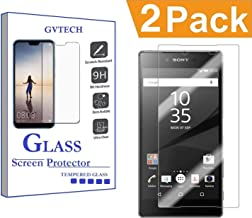 GVTECH Screen Protector for Sony Xperia Z5 Premium, Tempered Glass Screen Protector[0.3mm, 2.5D][Bubble-Free][9H Hardness][Easy Installation][HD Clear] for Sony Xperia Z5 Premium(2 Pack)