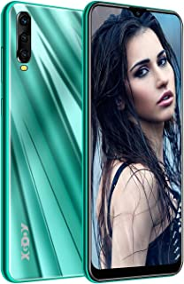 Xgody A90 Mobile Phones,Android 9.0 Unlocked Cell Phone, Dual Sim-Free Smartphone with 6.53 inch HD(19:9) Waterdrop Screen,5MP + 16GB ROM(Green)