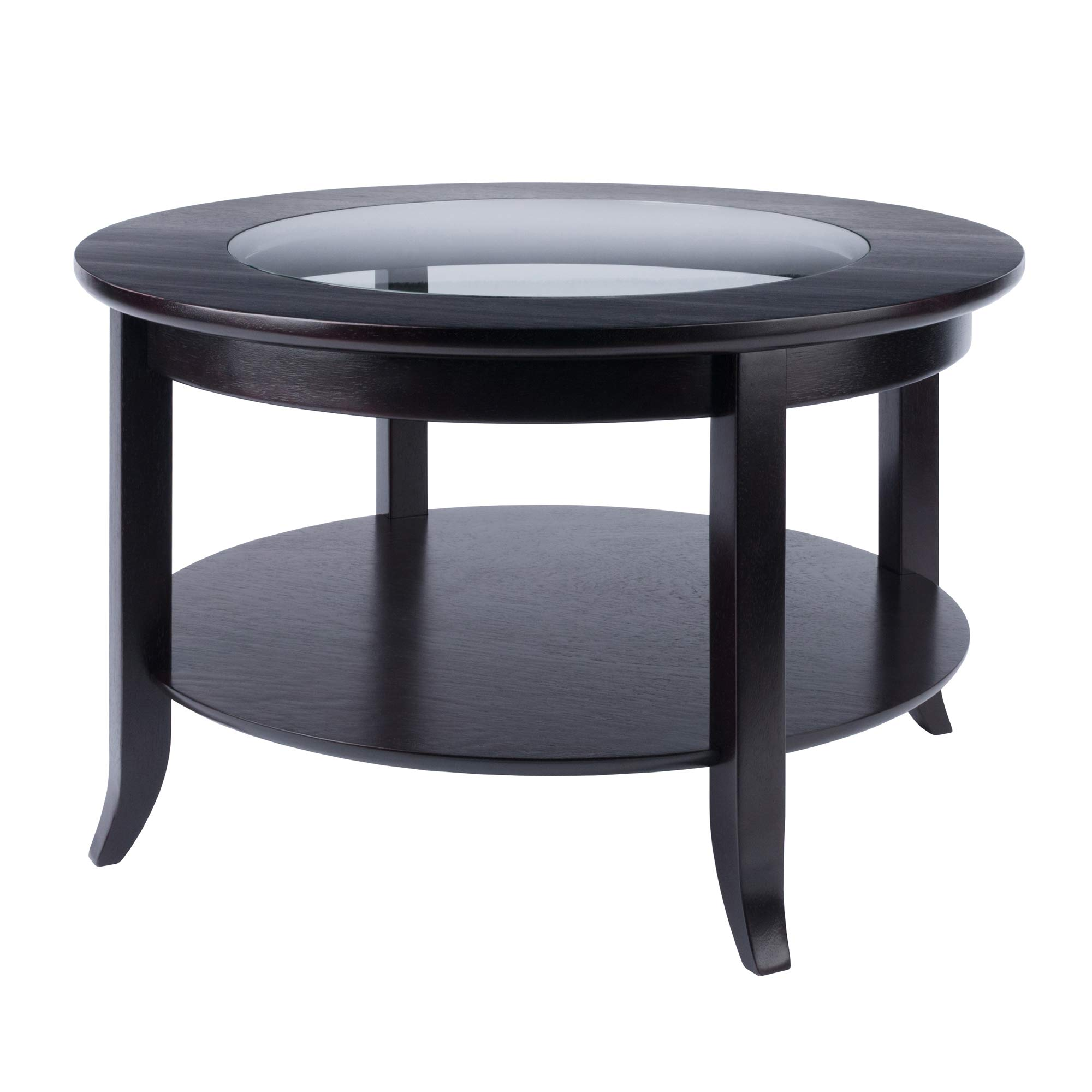 - Winsome, Wood, Espresso, Coffee Table: Amazon.co.uk: Kitchen & Home