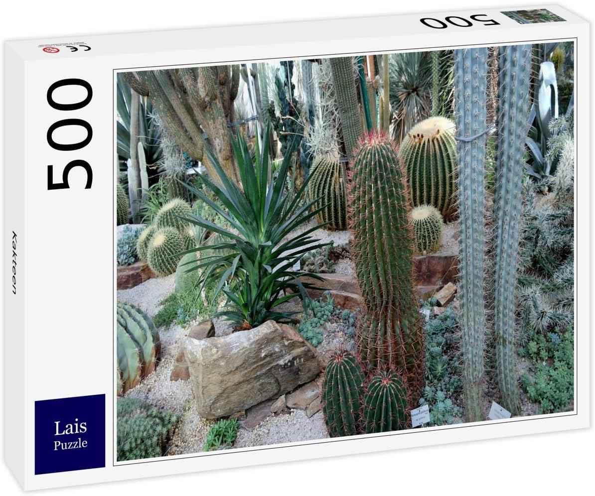 Ranking Excellent TOP2 Lais Jigsaw Puzzle Cacti 500 Pieces