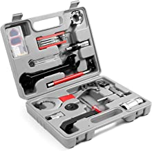 Odoland Bike Repair Tool Kit, 26 in 1 Bicycle Maintenance Tool Set with Multifunction Tool, Torque Wrench and Tool Box, Pe...