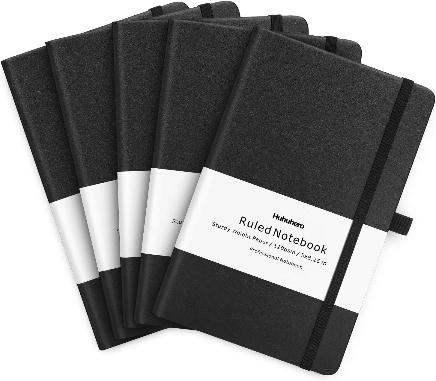 Huhuhero 5 price Pack Popular popular Notebooks Journals Notebook Ruled 120G Classic