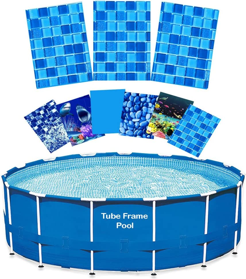 22' Tube depot Frame Pool Liner Abys Re-Lining Replacement Kit Royale Purchase