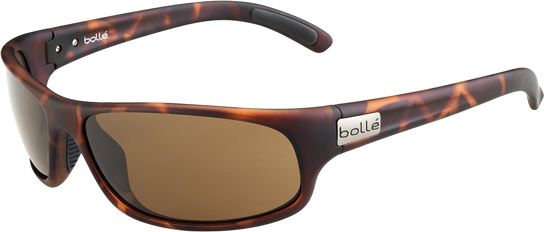 Bolle Anaconda Sunglasses Matte Tortoise, Brown, Medium/Large