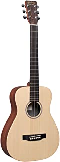 Little Martin LX1 Acoustic Guitar with Gig Bag, Sitka Spruce and Mahogany HPL Construction, Modified 0-14 Fret, Modified L...