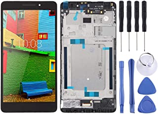 SHUHAN LCD Screen Phone Repair Part LCD Screen and Digitizer Full Assembly with Frame for Lenovo PHAB Plus PB1-770 PB1-770...