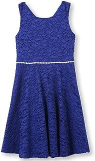Girls' Big 7-16 Tween Allover Lace Skater Dress
