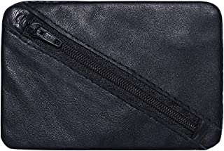Laveri Unisex Pouch - Leather, Black