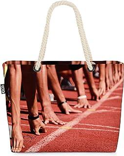 VOID Pista de Sprinters Bolsa de Playa 58x38x16cm 23L Shopper Bolsa de Viaje Compras Beach Bag Bolso