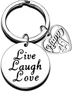 Birthday Gifts for Friends Family Keychain 12th 13th 16th 18th 20th 30th 40th 50th 60th 80th Birthday Presents