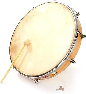 Percussion Plus - Pandero (12 pulgadas, 30,48 cm)