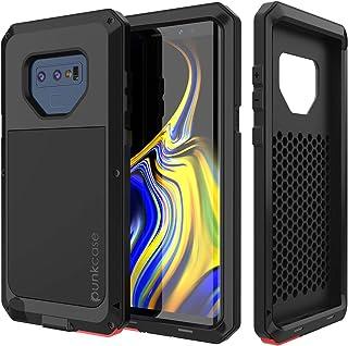 PunkCase Galaxy Note 9 Metal Case, Heavy Duty Military Grade Rugged Armor Cover Hybrid Full Body Hard Aluminum & TPU Desig...