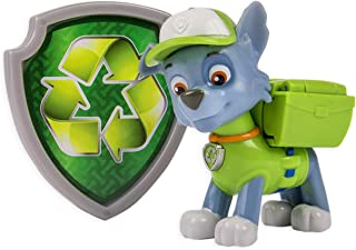 Paw Patrol Action Pack Pup & Badge, Rocky