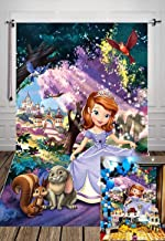 sofia the first background for birthday