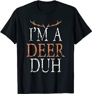 I'm a Deer Duh Halloween Costume T-Shirt