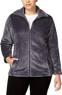 Ideology Womens Plus Fall Fleece Jacket