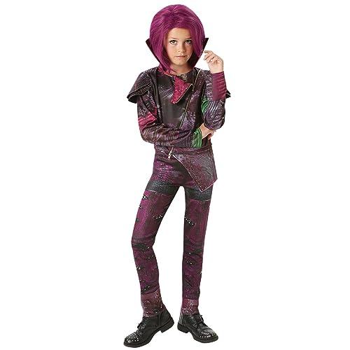 Amazing Rubieu0027s Official Disney Descendants Deluxe Mal, Children Costume ( 5 6  Years ),