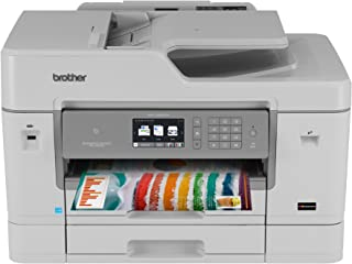 Brother MFC-J6935DW Inkjet All-in-One Color Printer, Wireless Connectivity, Automatic Duplex Printing, Amazon Dash Repleni...