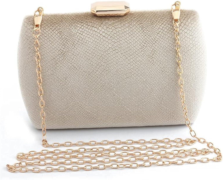 mimiliy Ladies Evening Bag Evening Clutch Bags Women Full Dress Evening Bag Purse and Handbag Mini Totes (Color : Blue, Size : Max Length(20cm)) (Color : Gold, S : Max Length(20cm))