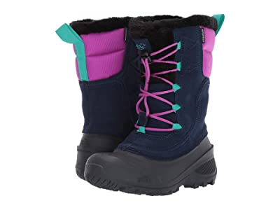 The North Face Kids Shellista Lace (Toddler/Little Kid/Big Kid) (Cosmic Blue/Purple Cactus Flower) Kids Shoes