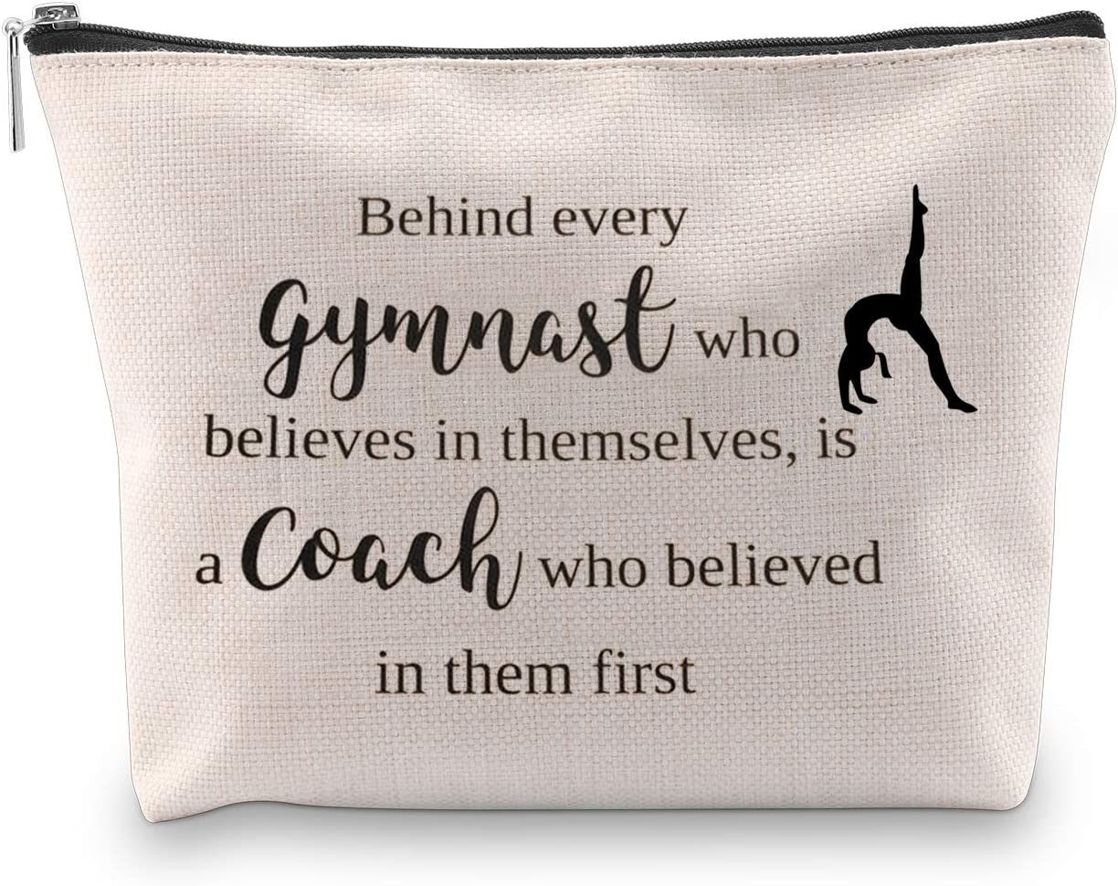 Generic WCGXKO Gymnast Coach Gift Behind Every Gymnast Who Believes Themselves Is A Coach Who Believed In Them First (Gymnast Coach)