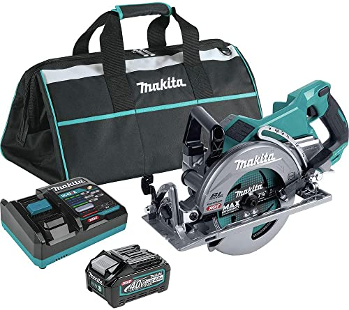 lowest Makita GSR01M1 40V Max XGT Brushless Lithium-Ion popular 7-1/4 in. Cordless Rear Handle Circular 2021 Saw Kit (4 Ah) online