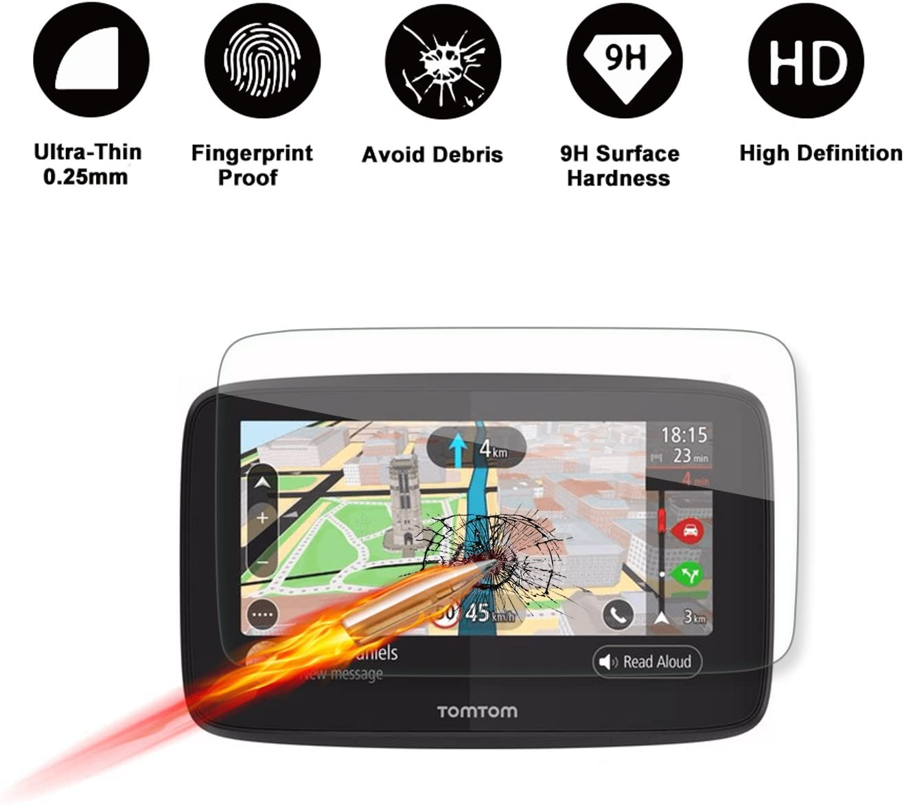 Special Brand Cheap Sale Venue for Tomtom GO 520 5200 Max 74% OFF Navigation GPS Display 5-Inch Scr