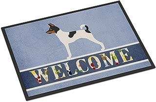 Caroline's Treasures American Toy Fox Terrier Welcome Doormat 24