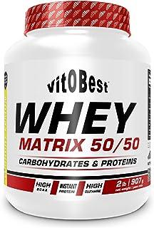WHEY MATRIX 50/50 2 lb VAINILLA - Suplementos Alimentación y Suplementos Deportivos - Vitobest
