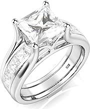 Best 925 silver wedding ring set Reviews
