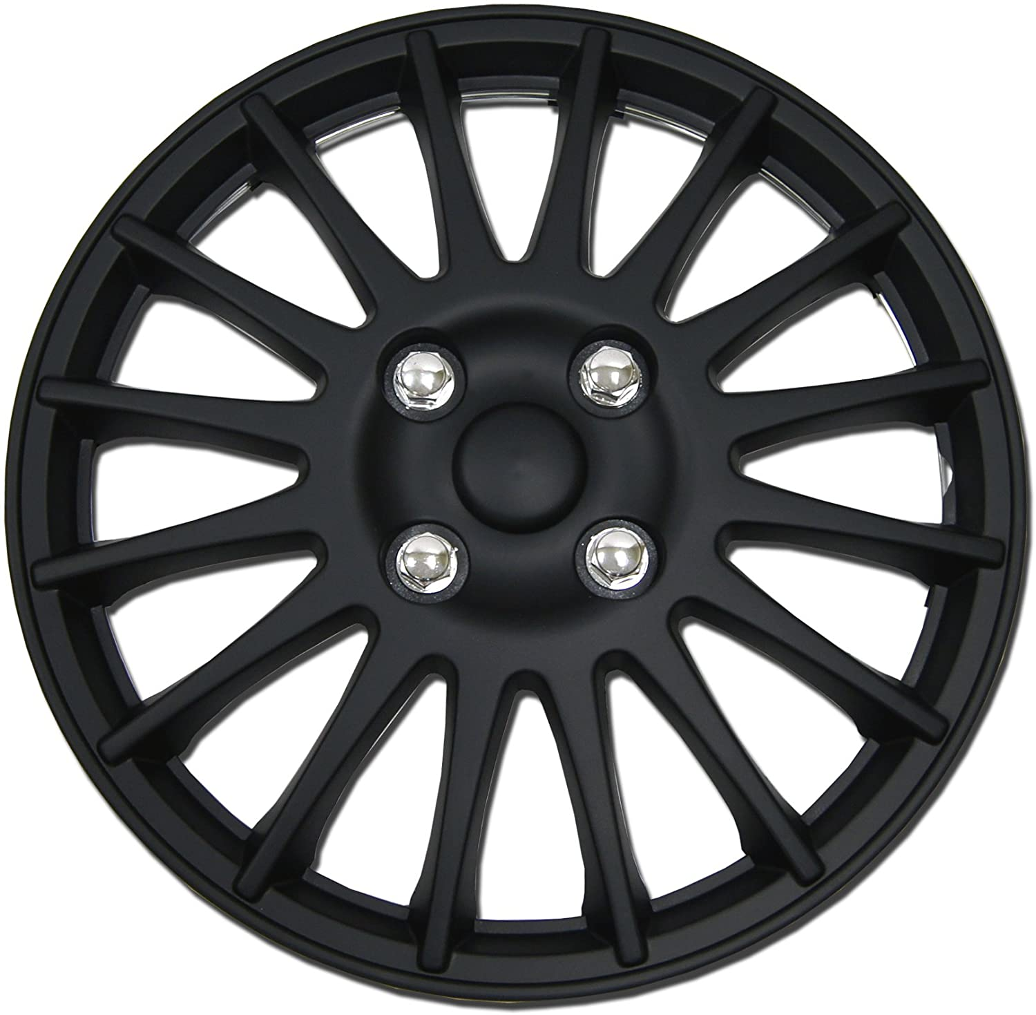 TuningPros WSC-611B15 Hubcaps Wheel Nashville-Davidson Mall Skin B Cover Matte 15-Inches Credence