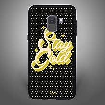 Samsung Galaxy A8 Plus 2018 Stay Gold Textured Black