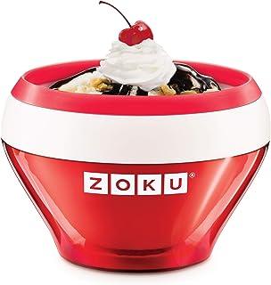 comprar comparacion Zoku ZK120-RD Bowl helados cremosos-rojo, Plástico, Red