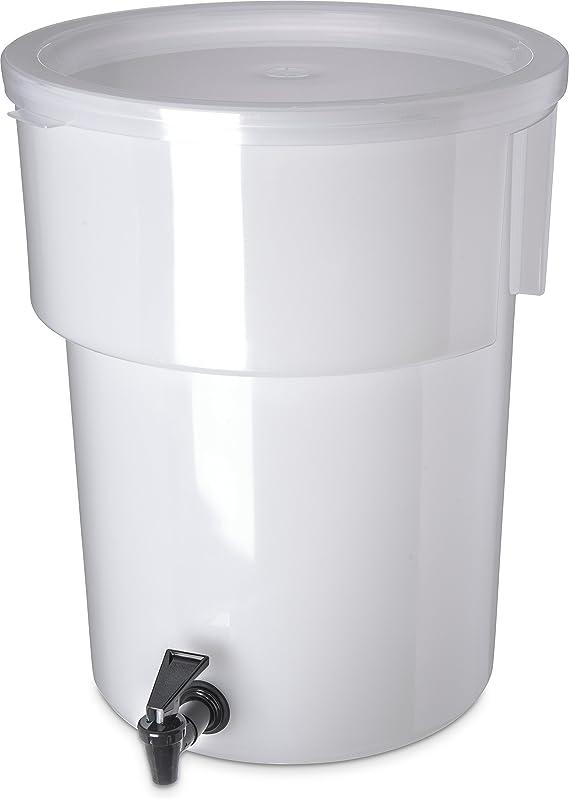 Carlisle 221002 Polyethylene Round Beverage Dispenser