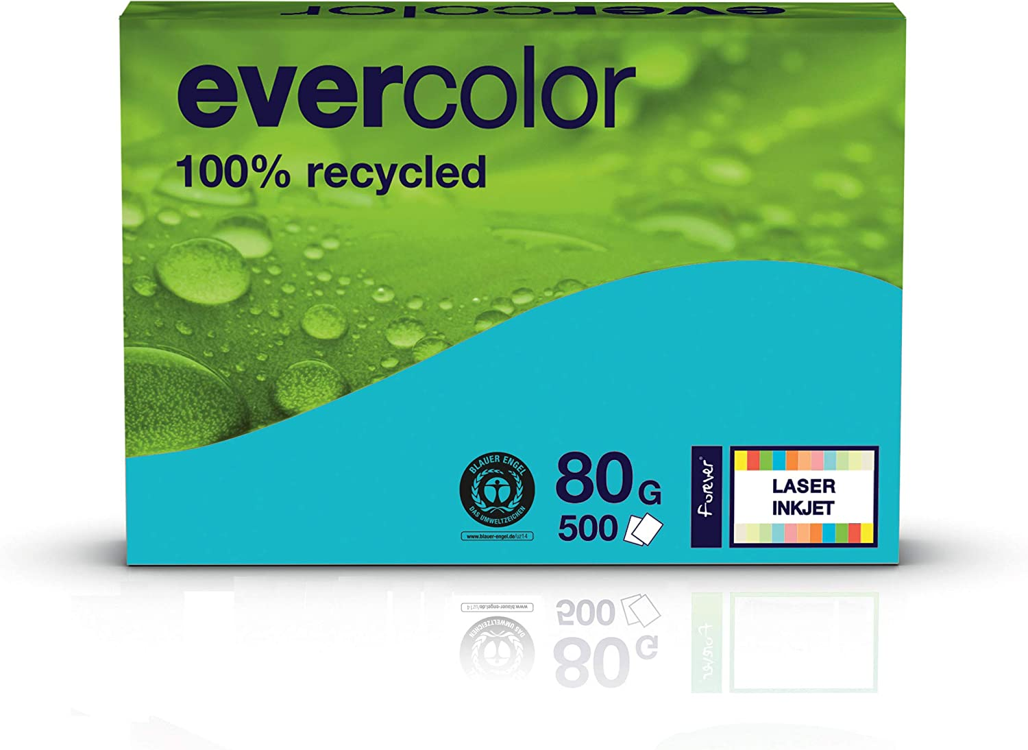 Clairfontaine Coloured Printer shop Paper Evercolour Recycled 2021