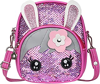Goddesslili Mini Backpack, Blinking Sequins Small kids Backpack Toddler