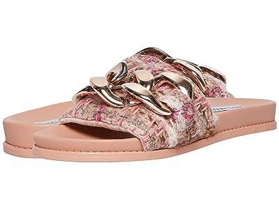 Steve Madden Delay Sandal (Pink Multi) Women