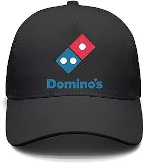 Unisex domino's-Pizza-Logo- Snapback Hat Sunscreen Cap Rock Punk caps