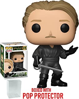 Funko Pop! Movies: The Princess Bride - Westley Vinyl Figure (Bundled with Pop Box Protector Case)