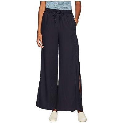 onia Chloe Wide Pants (Deep Navy) Women