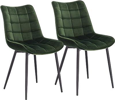 WOLTU® Esszimmerstühle BH142dgn 2 2er Set Küchenstuhl