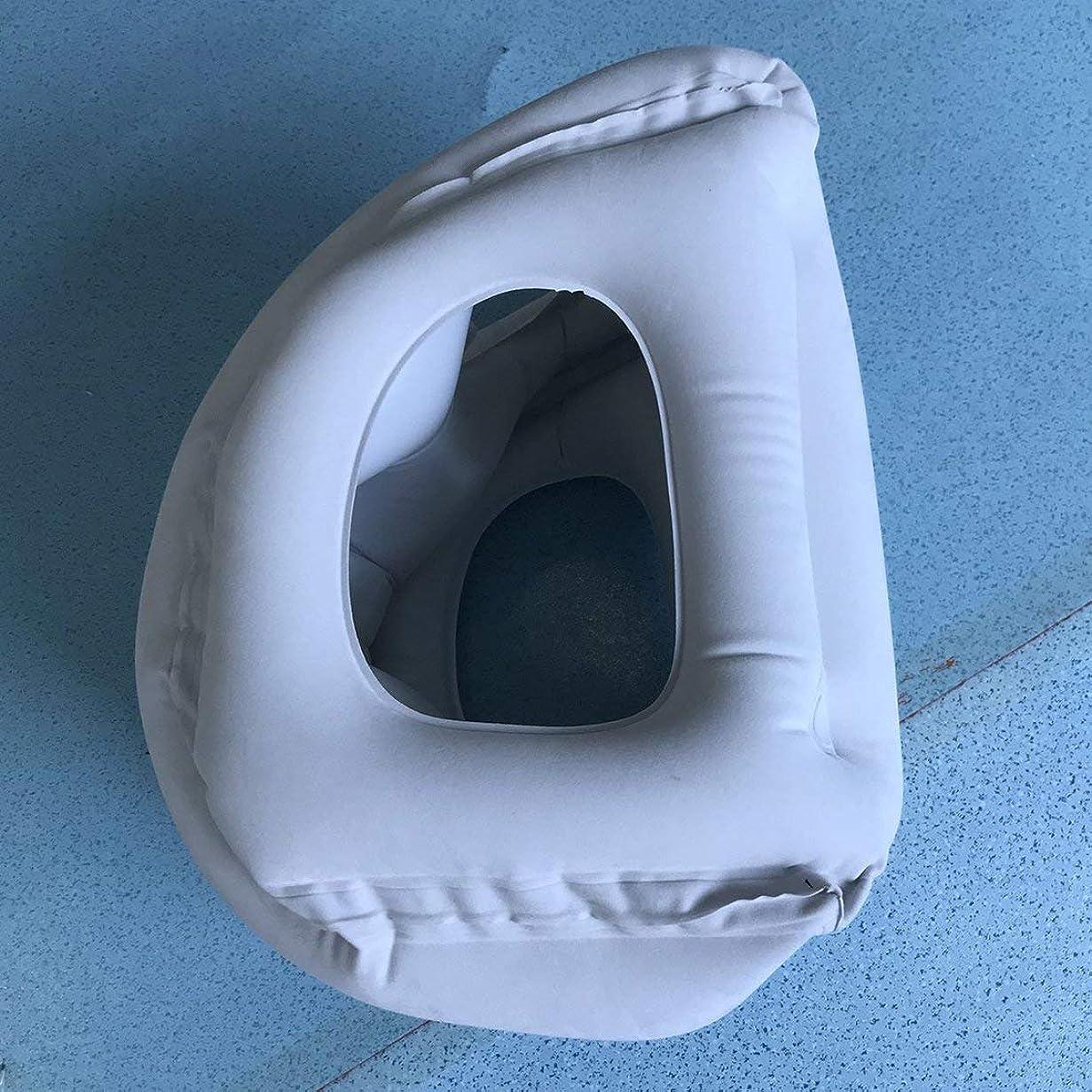 地質学コマンド鋼革新的で膨脹可能なクッション旅行枕、首/頭のあごのサポート旅行ボディ昼寝枕クッション飛行機/車/バス用
