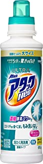 【大容量】ウルトラアタックNeo 洗濯洗剤 濃縮液体 本体 610g