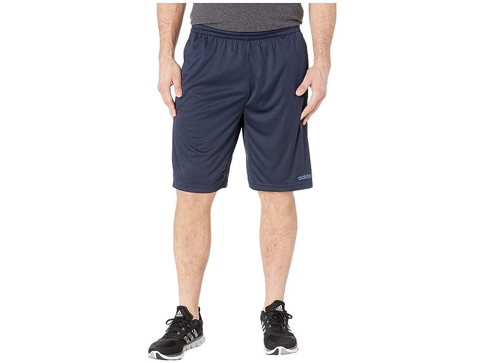 adidas - adidas Big Tall D2M 3-Stripe Shorts , Legend Ink/Collegiate Royal