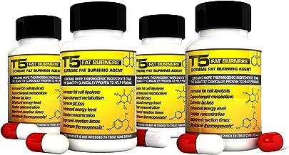 x4 Original T5 Fat Burners Maximum Strength Slimming Weight Loss Diet Pills 4 Month Supply Estimated Price : £ 32,49