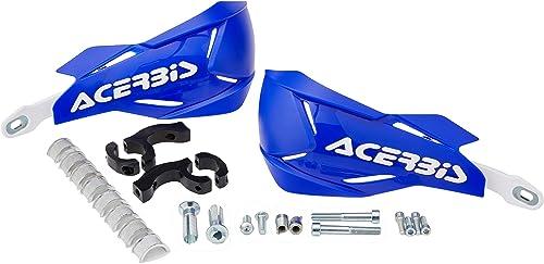 Acerbis Protège-mains X-Factory Bleu/Blanc Taille Unique