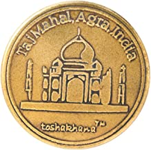 Toshakhana 1201 Bottle Opener Cum Fridge Magnet Brass G Taj Mahal Agra UP India Souvenir