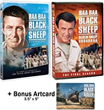 Baa Baa Black Sheep Squadron Complete Series DVD - Seasons 1 & 2 with Bonus