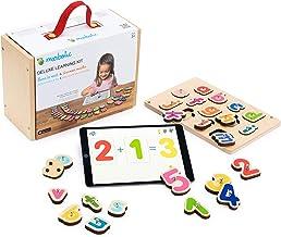 Marbotic - Deluxe Learning Kit - Jeu Interactif pour iPad - De 3 à 5 Ans - Lettres Alphabet & Chiffres en Bois Interactifs...
