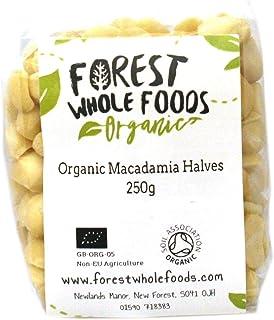 Forest Whole Foods Biologische Macadamia Noten Halves, 125 g